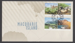 AUSTRALIE AAT 2010 FDC Macquarie Island - FDC