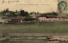 SAINT JEAN DE BOURNAY VUE DE LA GARE - Saint-Jean-de-Bournay
