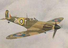 Vickers Armstrong Supermarine P7530 Rolls Royce Engine Spitfire Plane Postcard - Aerei