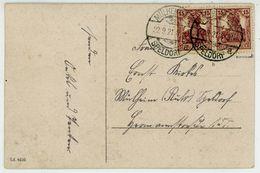 Nr. 142 B Paar Geprüft Infla Ansichtskarte Aus Mülheim - Briefe U. Dokumente