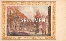 Nederlandse Gist En Spiritusfabriek Delft Bakkerij Koningsgist -  Bruges - Brugge - Ledegem