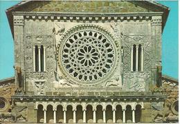 Tuscania (Viterbo)  Basilica Di San Pietro, Bifore E Rosone, Basilique De St. Pierre, Fenetres Doubles Et Rosace - Viterbo