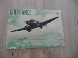 Air France Pub Publicité Service Quotidiens Monde Vers 1939 - Publicités