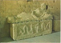 Tuscania (Viterbo)  Basilica Di San Pietro, Interno, Sarcofago Etrusco, Basilique De St. Pierre, Sarcophage Etrusque - Viterbo