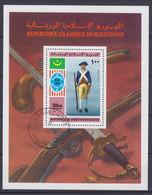Mauritania 1976 Block 14 Miniature Sheet American Independence Unabhängigkeit (Used) - Mauretanien (1960-...)