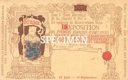 Expo Des Primitifs Flamands De D'art Ancien  Van Eyck Memling Gerard David -  Bruges - Brugge - Ledegem