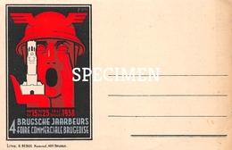 4e Brugsche Jaarbeurs 1938 -  Bruges - Brugge - Ledegem