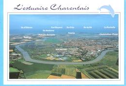 L'Estuaire Charentais (Charente Maritime)-Vue Aérienne-Rochefort-Martrou-Soubise-Port Des Barques-Fouras-Chatelaillon... - Rochefort