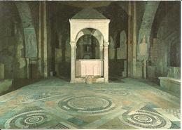 Tuscania (Viterbo) Interno Basilica Di San Pietro, Altare, Pavimento Marmoreo, Basilique De St. Pierre, Interieur, Autel - Viterbo