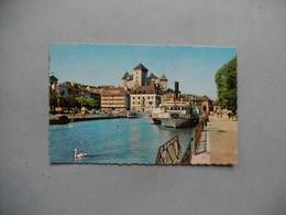 ANNECY  -  74  -   Le Port Et Le Château  -  Haute Savoie - Annecy