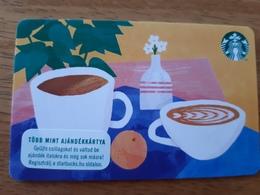 Starbucks Gift Card Hungary - 2019 0073 - Gift Cards
