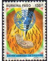 Ref. 368493 * MNH * - BURKINA FASO. 1991. FIGHT COUNT THE DRUGS . LUCHA CONTAR LAS DROGAS - Burkina Faso (1984-...)