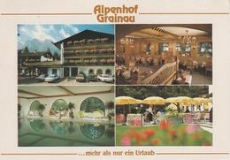 AK Grainau Hotel Restaurant Cafe Alpenhof Alpspitzstraße 34 A Sankt Martin Straße Hausberg Garmisch Partenkirchen - Garmisch-Partenkirchen