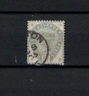 N° 82 TIMBRE GRANDE-BRETAGNE OBLITERE   DE 1883       Cote : 200 € - 1840-1901 (Victoria)
