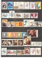 Année 1976 Complète (sauf Blocs Et Timbres De Carnets) - Obl/gest/used (à Voir 2 Scans) - Usati