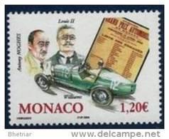 """Monaco YT 2435 """" Grand Prix Automobile """" 2004 Neuf** - Unused Stamps"""
