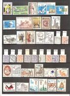 Année 1978 Complète (sauf Blocs Et Timbres De Carnets) - Obl/gest/used (à Voir 2 Scans) - Usati