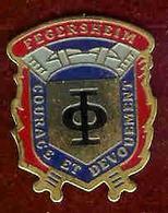 @@ Sapeur Pompier FEGERSHEIM  (2.8x2.3) @@pom01 - Brandweerman