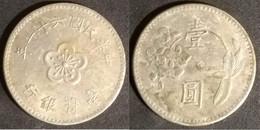 Taiwan - 1 Dollar 1972 Used (tn003) - Taiwan
