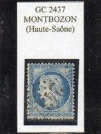 Haute-Saône - N° 60C Obl GC 2437 Montbozon - 1871-1875 Cérès