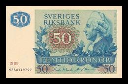 Suecia Sweden 50 Kronor 1989 Pick 53d SC UNC - Svezia