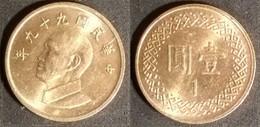 Taiwan - 1 Dollar 2010 Used (tn011) - Taiwan