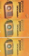 Turkey, TR-TT-N-0136, 136a And 136b, Bindokuzelli - 1950, Telephone Sets From Past Till Present 3, 2 Scans, - Turchia