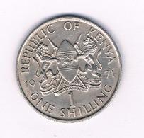 1 SHILLING   1971 KENIA /3942/ - Kenia