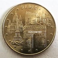 Monnaie De Paris 75.Paris - Les 4 Monuments De Paris 2009 CMN - Monnaie De Paris