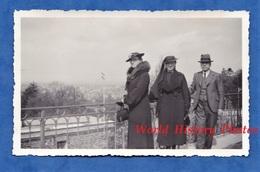 Photo Ancienne Snapshot - CHENNEVIERES SUR MARNE - Portrait De Femme & Homme - 12 Avril 1936 - Chapeau Robe Mode Costume - Foto
