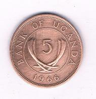 5 CENTS   1966 OEGANDA /3944/ - Oeganda