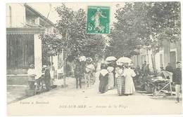 FOS SUR MER - Avenue De La Plag   (1150 ASO) - Autres Communes