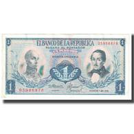 Billet, Colombie, 1 Peso Oro, 1974, 1980-08-07, KM:404e, TTB - Kolumbien