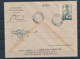 DP-64: FRANCE LIBRE: Lot Avec Entr'aide à L'aviation Sur Enveloppe (24/12/44) - Martinique (1886-1947)