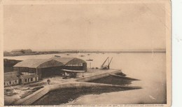 Carte Postale. France. Aviation Maritime. Rade. Hydravions. Etat Moyen. Taches. Pli. - Equipment