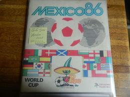 FOOTBALL +PANINI:TRES SUPER ALBUM MEXICO 86 COMPLET ET TRES BEL ETAT-ORIGINAL PAS LE FAC SIMILE-TRES BELLE COTE - Albums & Catalogues