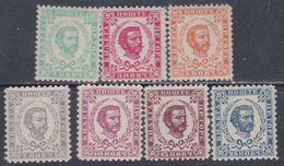 Monténégro N° 42 / 48 X  Prince Nicolas La Série Des 7 Valeurs : Trace De Charnière Sinon TB - Montenegro