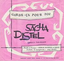 SACHA DISTEL - Disque Souple - 45T - Garde ça Pour Toi - Formatos Especiales