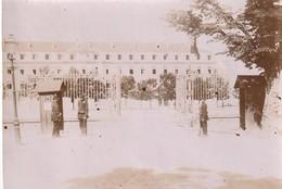 """Photo Mai 1897 CHAUMONT - """"entrée Du Quartier"""" De La Caserne Damremont (A221) - Old (before 1900)"""