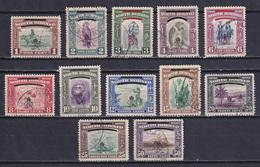 NORTH BORNEO 1947, SG# 335-346, Short Set, Animals, Used - Borneo Del Nord (...-1963)
