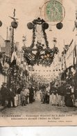 Auxerre   -      Concours  Musical Du  5  Août  1906 -    Décorations. - Auxerre