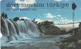 Turkey, TR-TT-N-0166b, Van, Four Seasons Turkey, Waterfall, 2 Scans, - Turchia