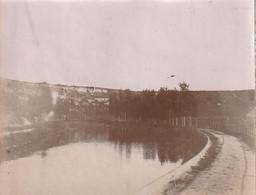 Photo 1897 Près FOULAIN - Le Canal De La Marne (A221) - Alte (vor 1900)