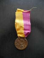 Medaglia Marcia Su Roma 1922 Originale Intestata Nastro Ventennio - Tokens & Medals