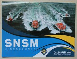 Calendrier 2020 SNSM Plouguerneau . Sauveteurs En Mer . NEUF . 24 X 32 Cm - Calendars