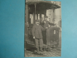 37 - TOURS - Les Petits Métiers - Conducteur De Tramway - Grand Bazar De Tours - Tours
