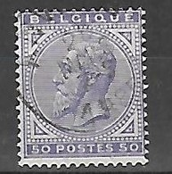 OCB Nr 41 King Roi Koning Leopold I - 1883 Léopold II