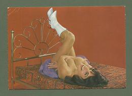 CARTE POSTALE  FEMME SEINS  NUS EROTIQUE  EDITIONS SOFER. - Beauté Féminine D'autrefois (1941-1960)