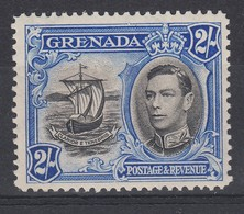 Grenada 1938 2/- Perf 12.5 SG161 MLH(*) - Grenada (...-1974)