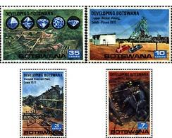 Ref. 57742 * MNH * - BOTSWANA. 1970. DEVELOPMENT OF BOTSWANA . DESARROLLO EN BOTSWANA - Botswana (1966-...)